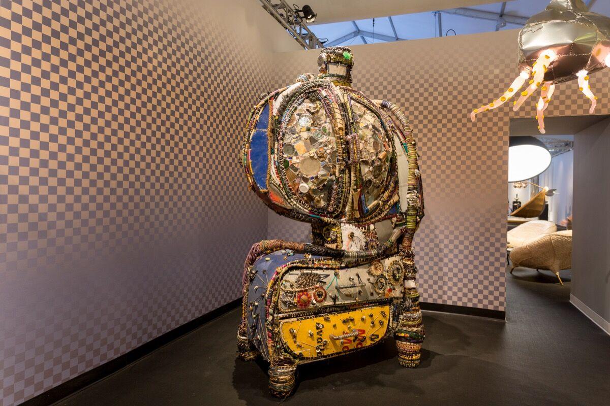 Installation view of Friedman Benda's booth at Design Miami/, 2016. Photo by Alain Almiñana for Artsy.