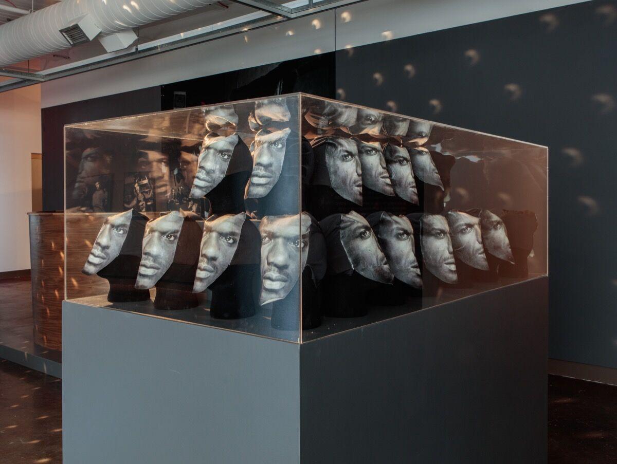 Installation view of work by Elia Alba. Photo byStan Narten.