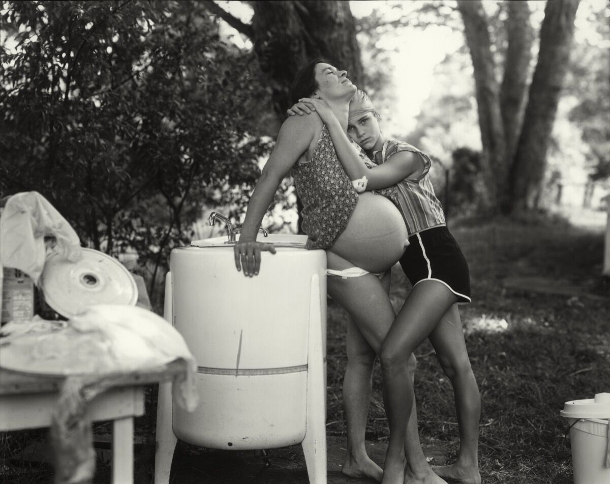 "Sally Mann, Untitled from the ""At Twelve"" Series (Page 46). © Sally Mann. Courtesy of Jackson Fine Art."