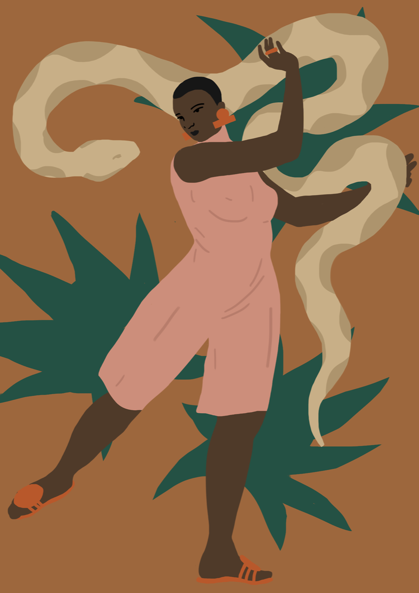 Illustration by Daiana Ruiz. Courtesy of the artist.