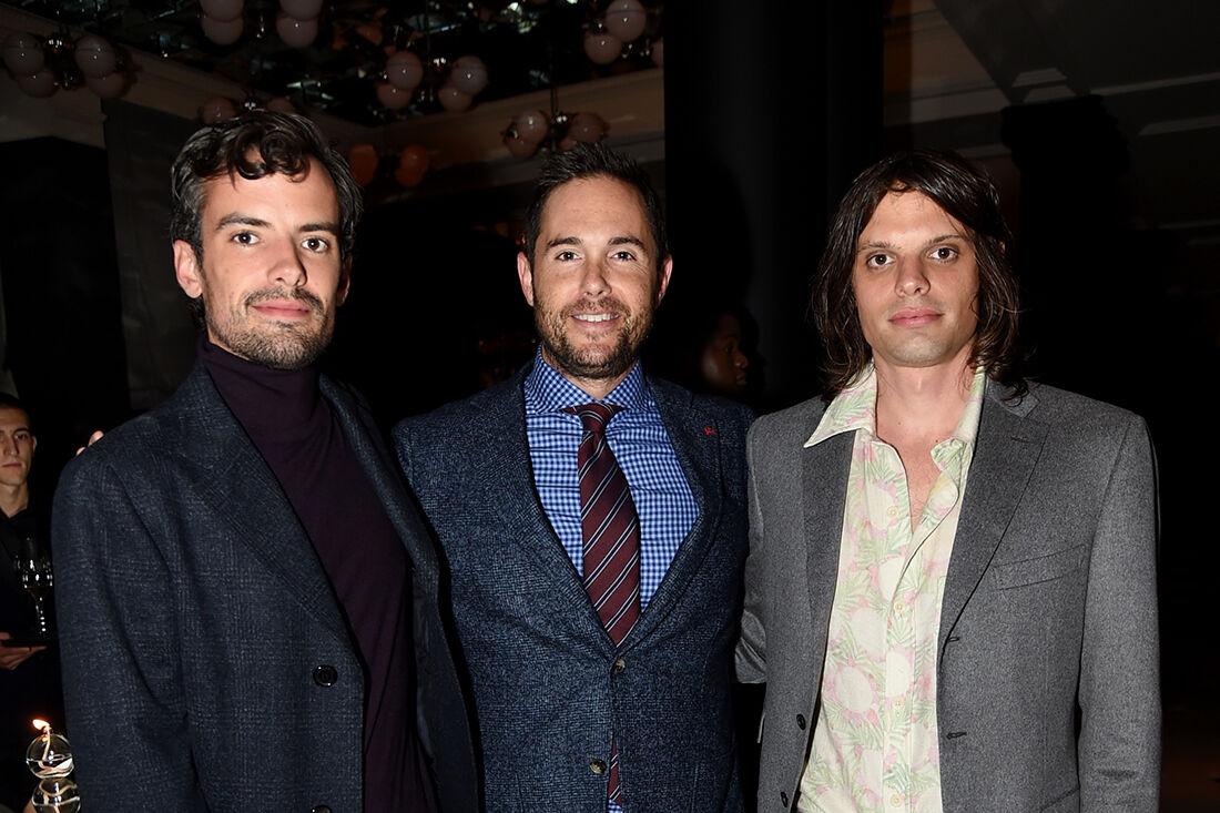 Portrait of Simon Haas, Josh Roth, and Nikolai Haas courtesy Rosewood London.
