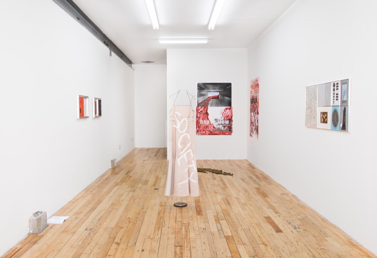 "Installation view of ""Dead Letter Office"" at JTT. Courtesy of JTT."