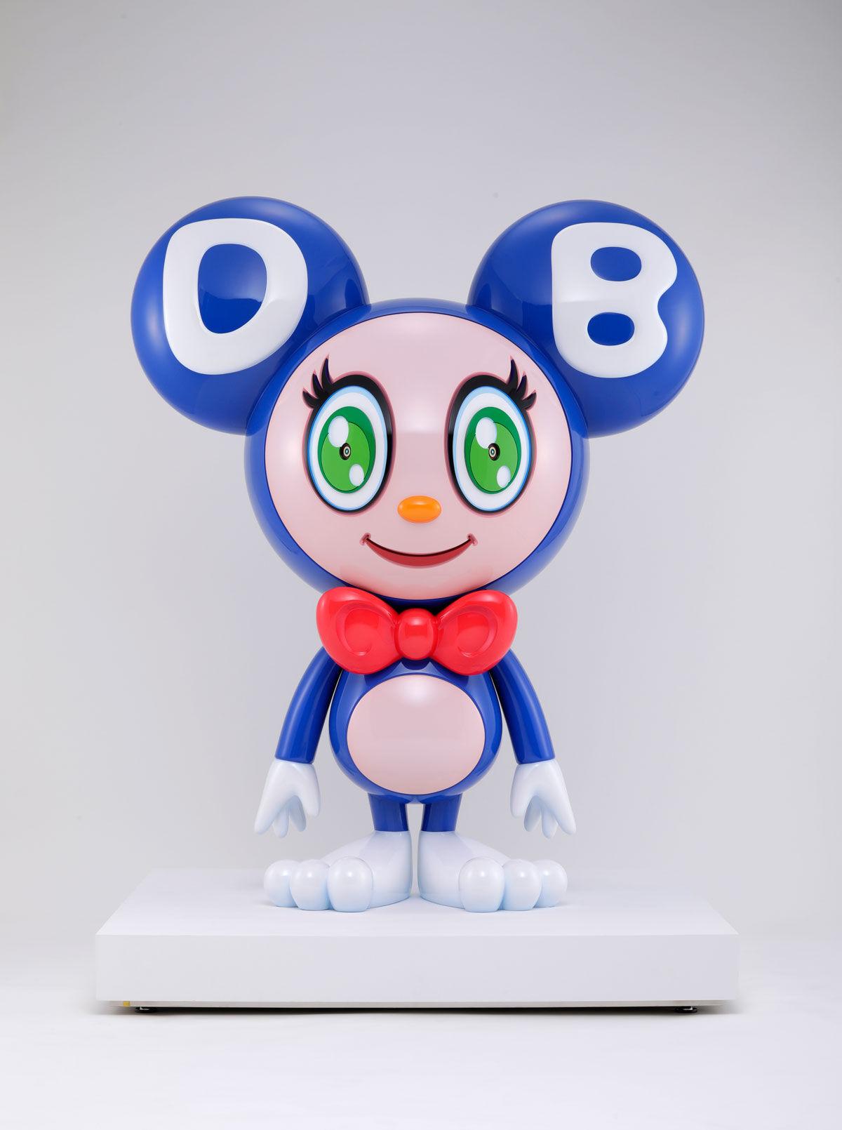 Takashi Murakami, Mr. DOB, 2019. ©︎ 2019 Takashi Murakami/Kaikai Kiki Co., Ltd. All Rights Reserved. Courtesy of Gagosian.