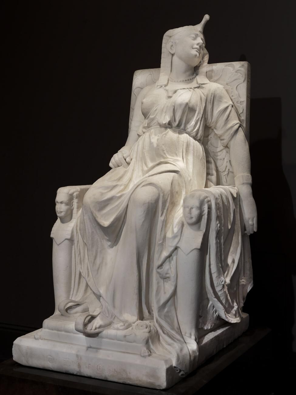 Edmonia Lewis, The Death of Cleopatra, 1876. Courtesy of the Smithsonian American Art Museum.
