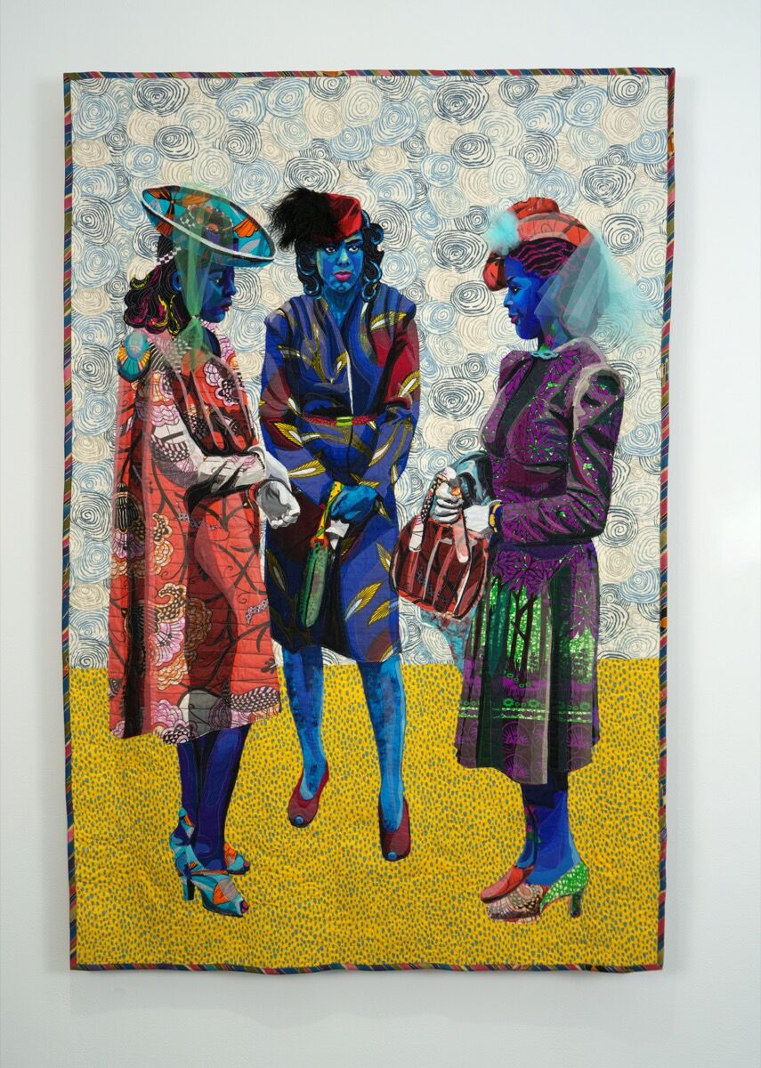 Bisa Butler, The Tea, 2018. Courtesy of the artist and Claire Oliver Gallery, New York.