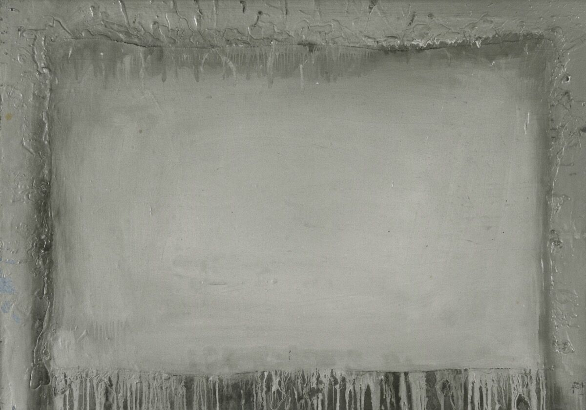 Gerhard Richter, Wound 16 (No. II / 16/62), February 1962. © Gerhard Richter 2020. Courtesy of the artist, Susanne Walther Collection, and the Staatliche Kunstsammlungen Dresden.
