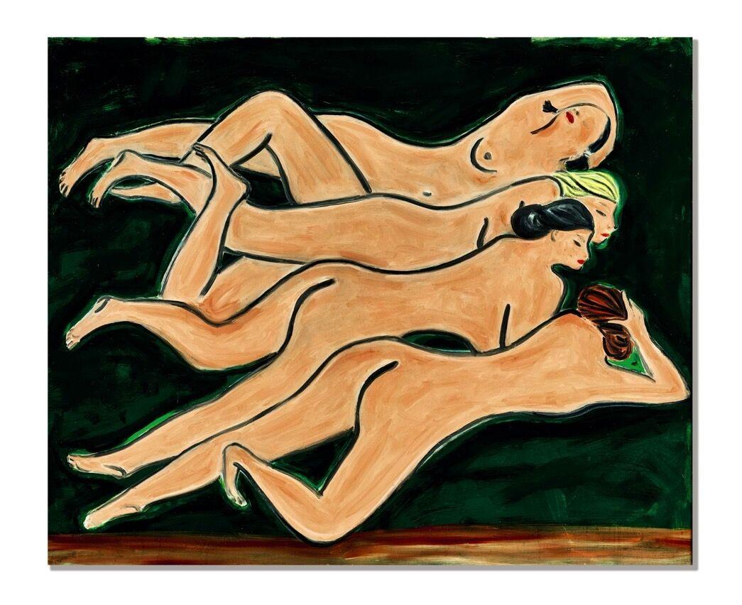 Sanyu, Quatre Nus, 1950s. Courtesy of Sotheby's.