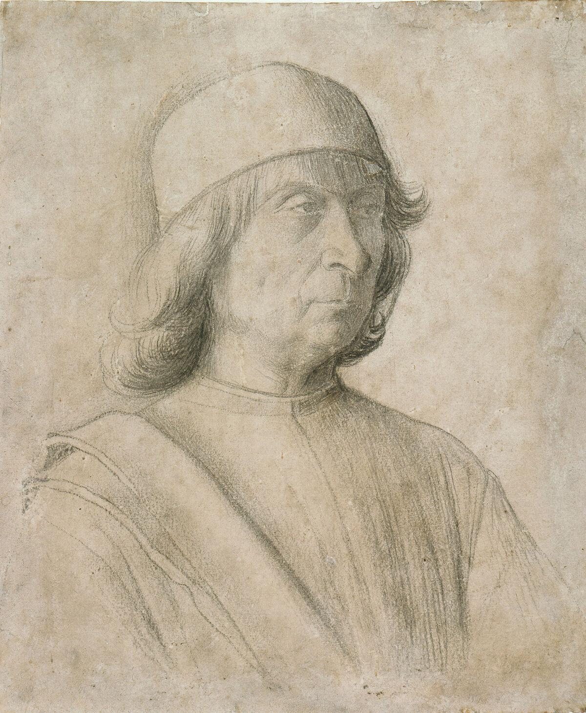 9b2d0cb3334 How Gentile Bellini s Portrait of a Sultan Helped End a War - Artsy