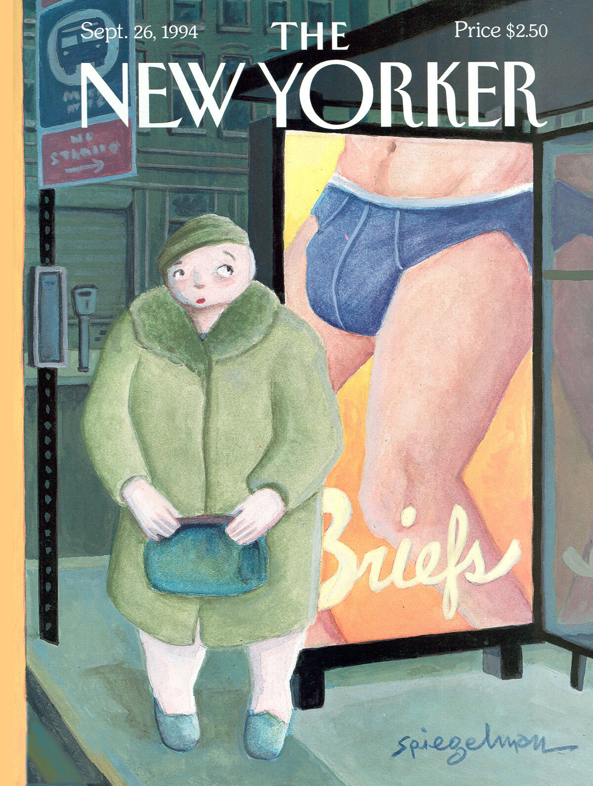 """Brief Encounter,"" by Art Spiegelman, September 26, 1994. Courtesy of The New Yorker. Used with permission."