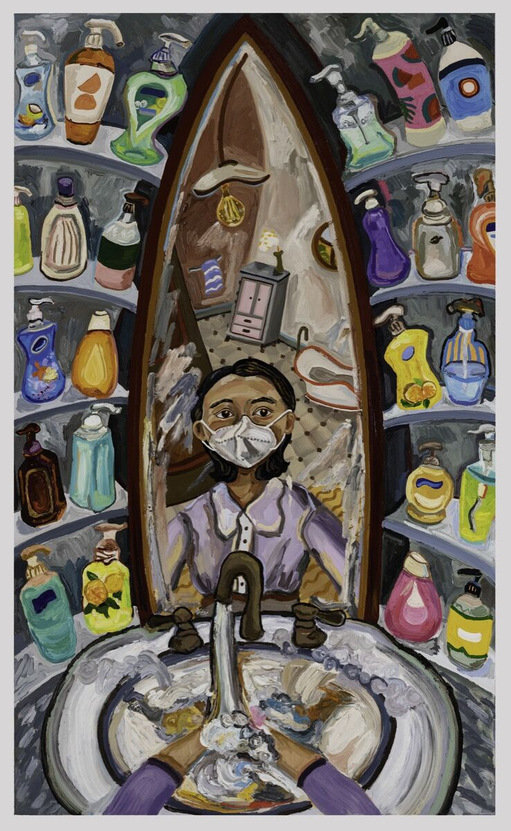 Susan Chen, Hand Soaps Galore, 2021. Courtesy of the artist.