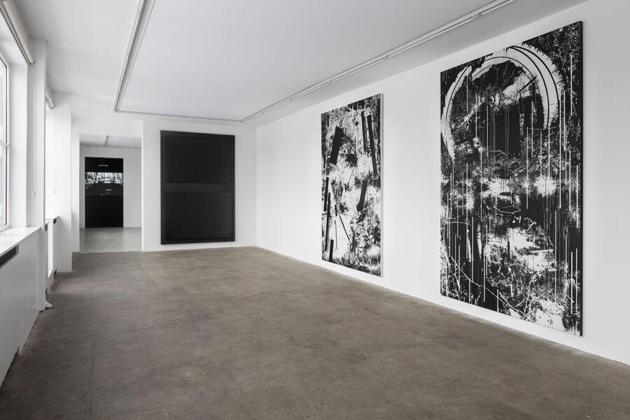 """Installation view of """"Yehudit Sasportas: Vertical swamps"""" at Galleri Bo Bjerggaard, Copenhagen. Courtesy ofGalleri Bo Bjerggaard and the artist."""