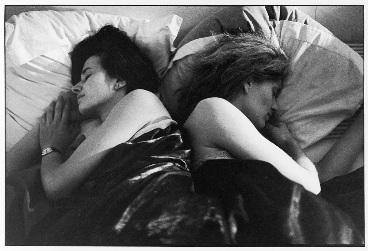 "I asked people to give me a few hours of their sleep. To come and sleep in my bed. To each participant I suggested an eight hour stay. The occupation of the bed began on Sunday, April 1, 1979 at 5 p.m. and ended on Monday, April 9, at 10 a.m. Sophie Calle, from the series ""The Sleepers"", 1979. © Sophie Calle / ADAGP, Paris & ARS, New York, 2019. Courtesy of Perrotin."