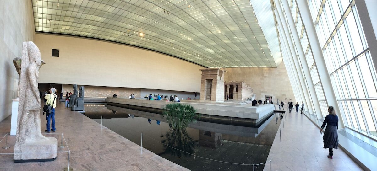 The Sackler Wing at the Metropolitan Museum of Art. Photo by Paulo JC Nogueira, via Wikimedia Commons.