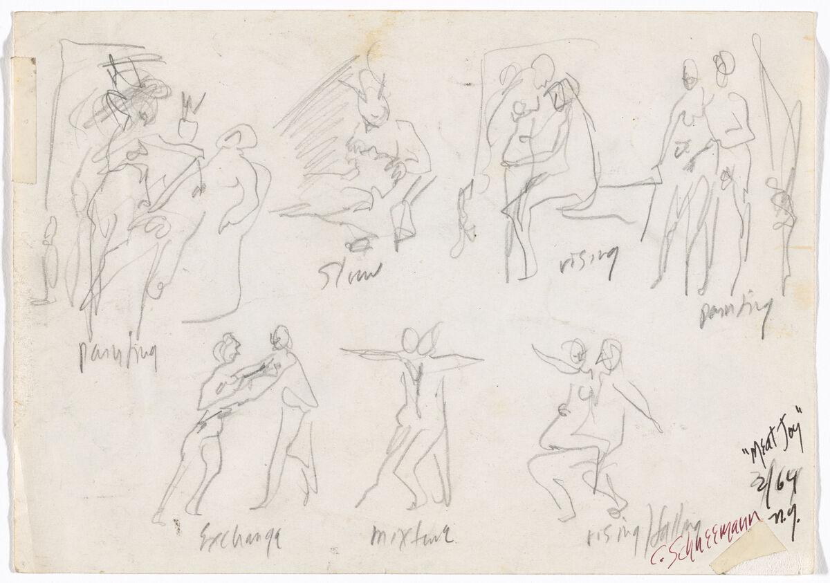 Carolee Schneemann, Meat Joy, 1964. © 2019 Carolee Schneemann / Artists Rights Society (ARS), New York. Courtesy of the Museum of Modern Art.