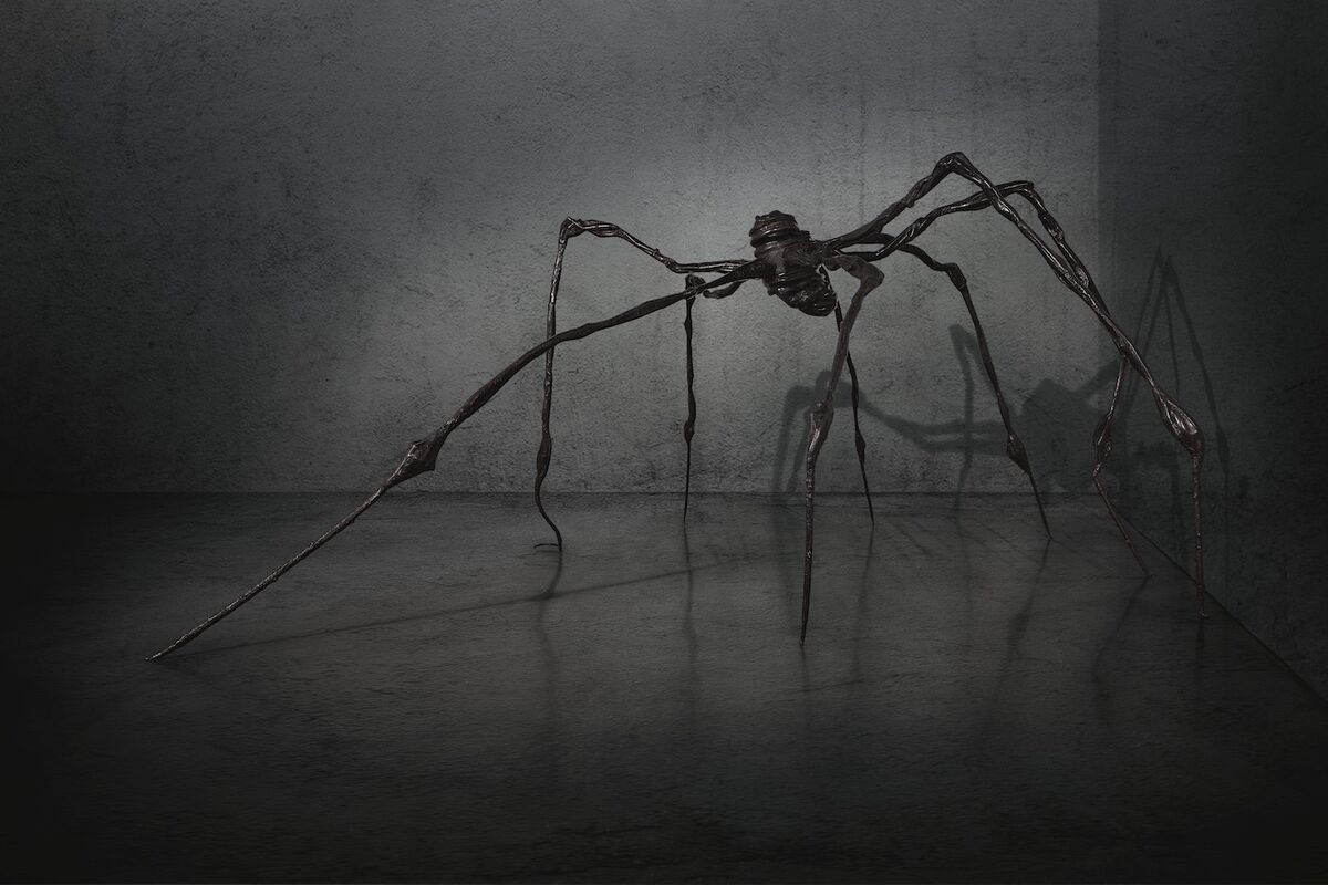Louise Bourgeois, Spider, 1996. Courtesy of Christie's Images Ltd.