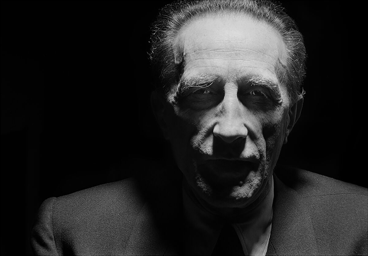 Tony Vaccaro, Duchamp, painter, sculptor, New York City, NY, 1952. Courtesy Tony Vaccaro Studio/Monroe Gallery.