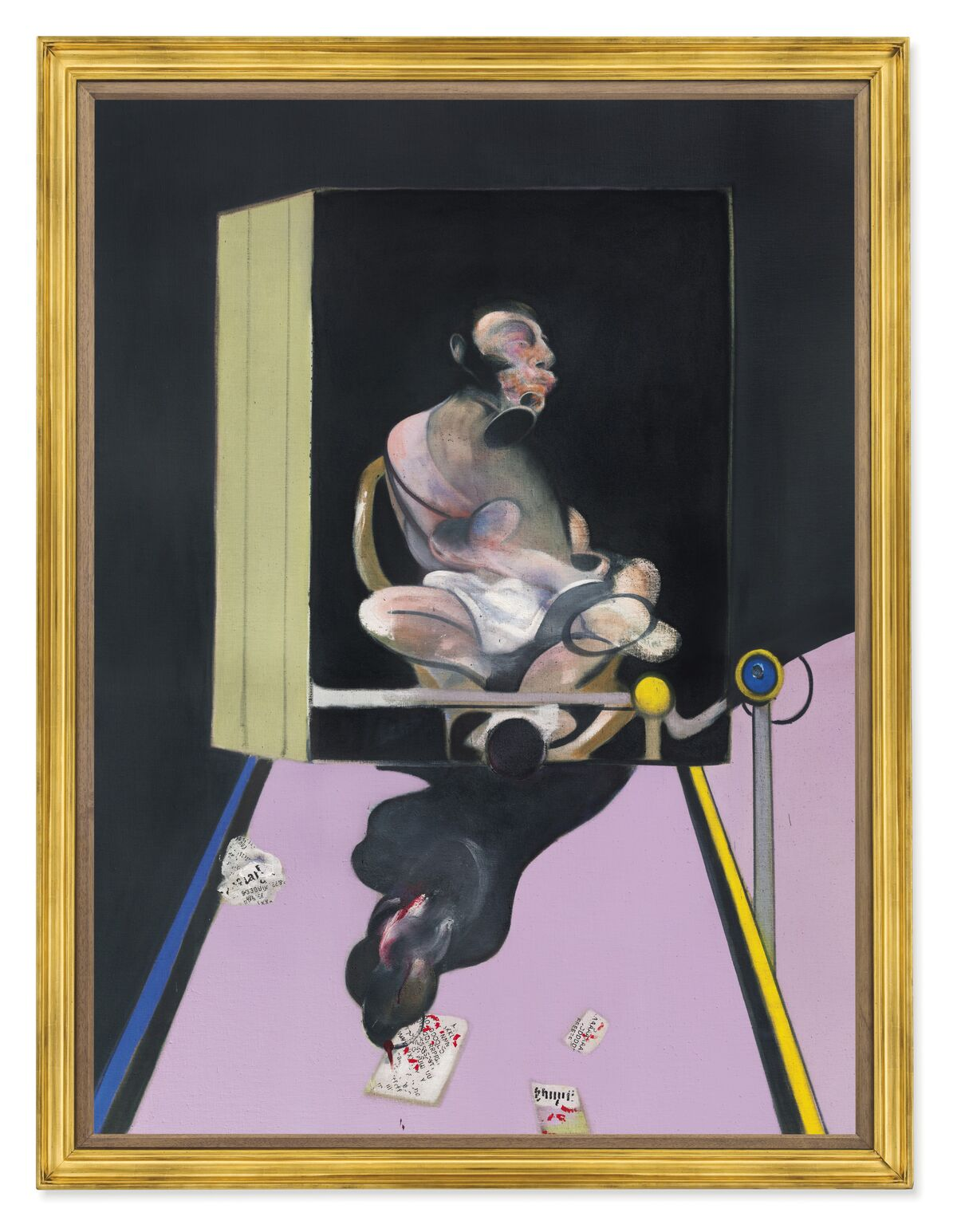 Francis Bacon, Study for Portrait, 1977. Courtesy of Christie's.