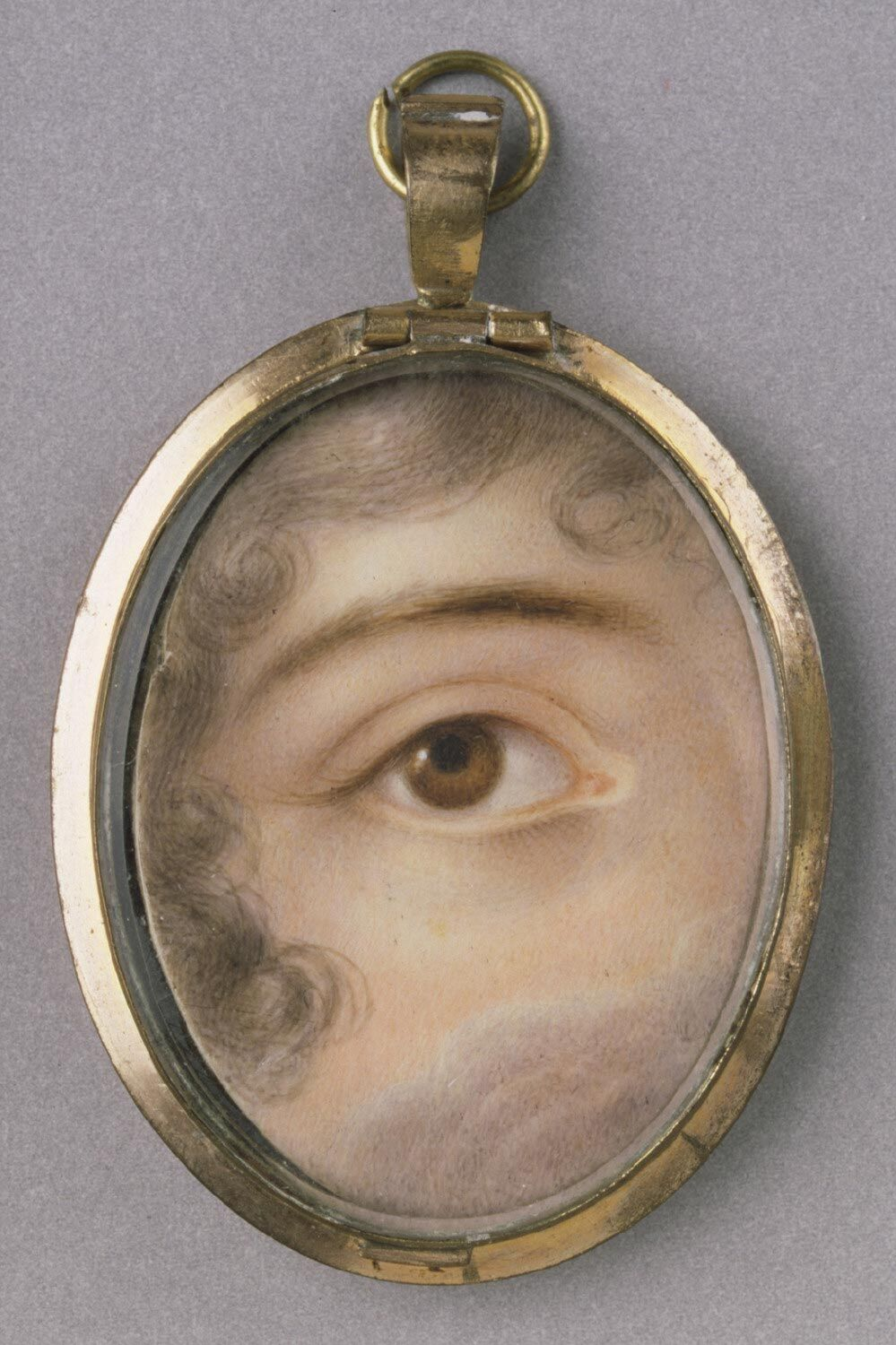 Portrait of a Woman's Right Eye. Courtesy of the Philadelphia Museum of Art.