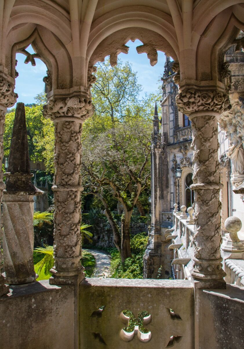 The gardens of the Quinta da Regaleira, Sintra, Portugal, 2017. Photo by Maria Eklind, via Flickr.
