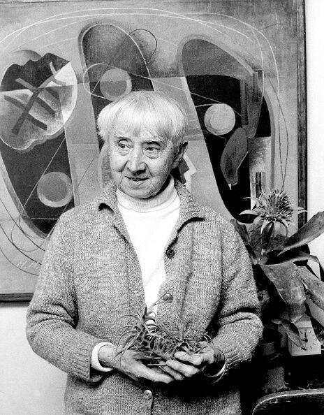 Hannah Hoch, 1973. Photo by Will / ullstein bild via Getty Images.
