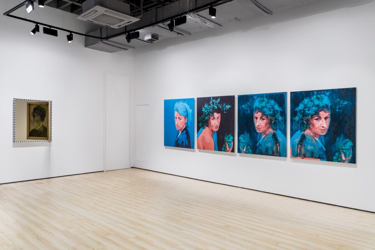 """Exhibition view of """"Spring"""" at Almine Rech Shanghai, 2020. Photo by Alessendro Wang. Courtesy of Almine Rech."""