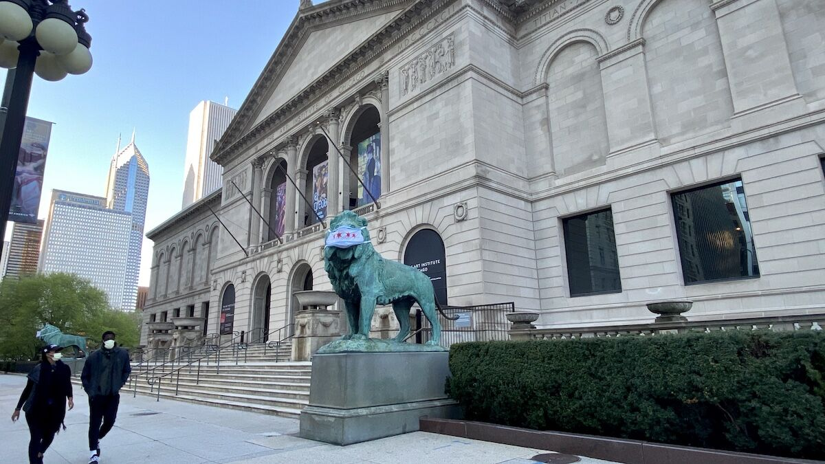 The Art Institute of Chicago. Photo by Raed Mansour, via Flickr.