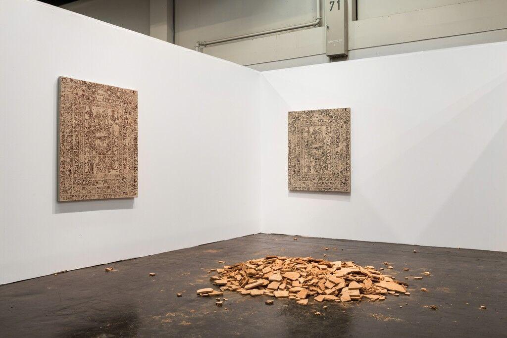Ellis King at Art Cologne 2015. Courtesy Ellis King.
