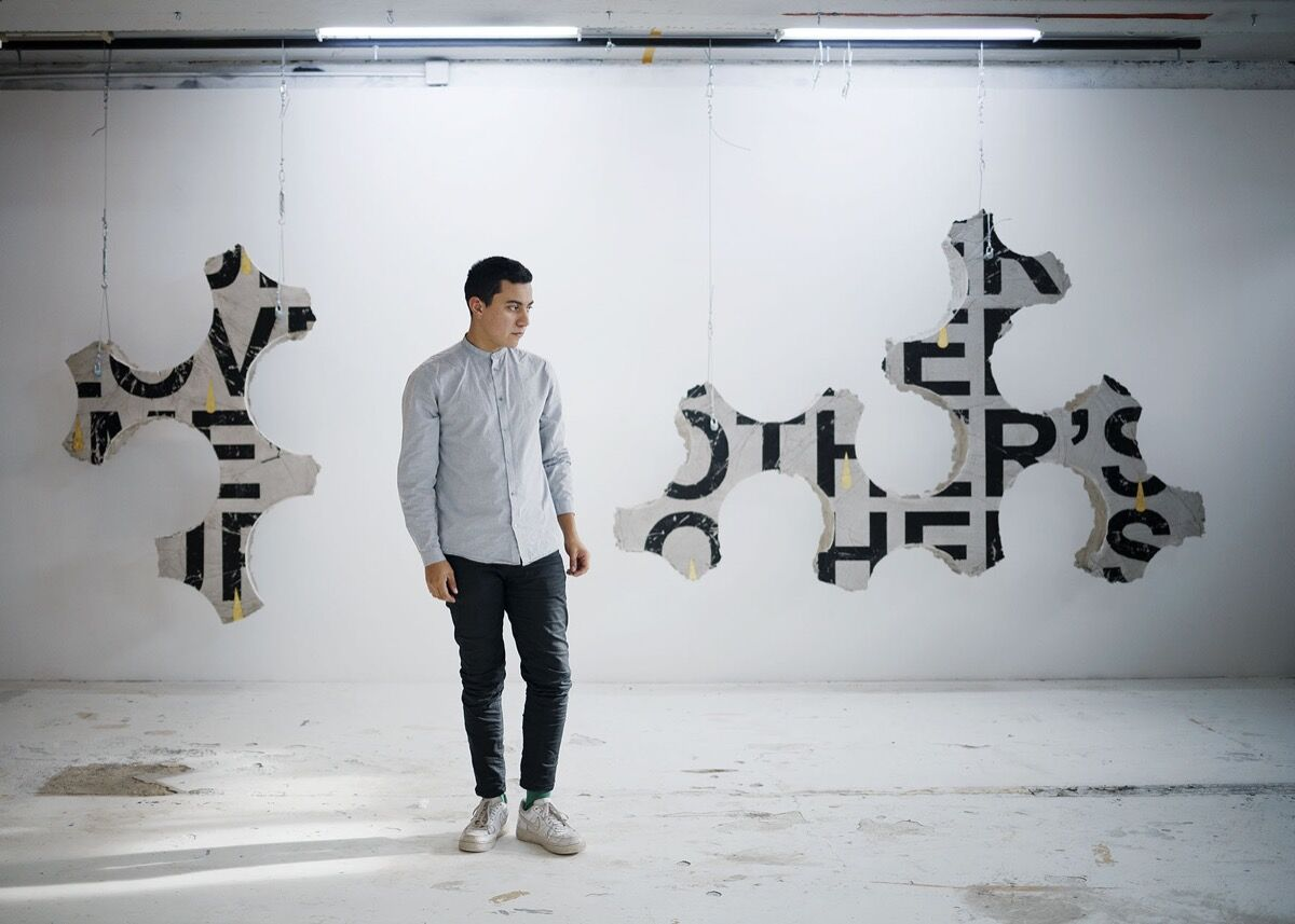 Portrait of Iván Argote by Claire Dorn. Courtesy of Galerie Perrotin.
