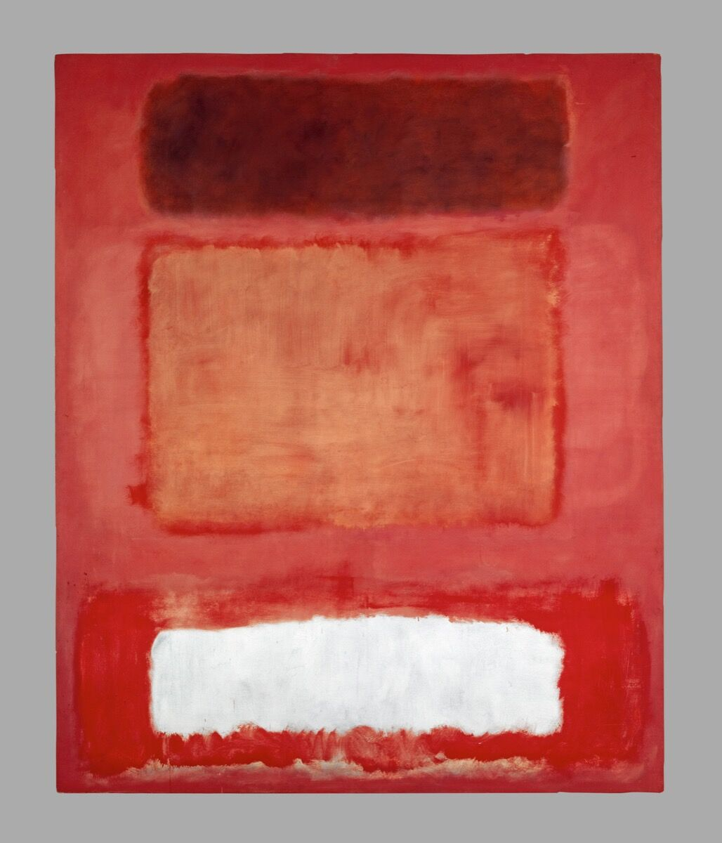 Mark Rothko, No. 16 (Red, White and Brown), 1957. © 1998 Kate Rothko Prizel & Christopher Rothko / Bildrecht, Vienna, 2019. Photo © Kunstmuseum Basel.