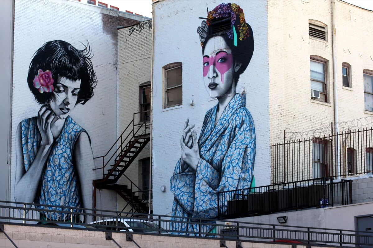 Artwork by Fin DAC, Los Angeles. Photo by Lord Jim, via Flickr.