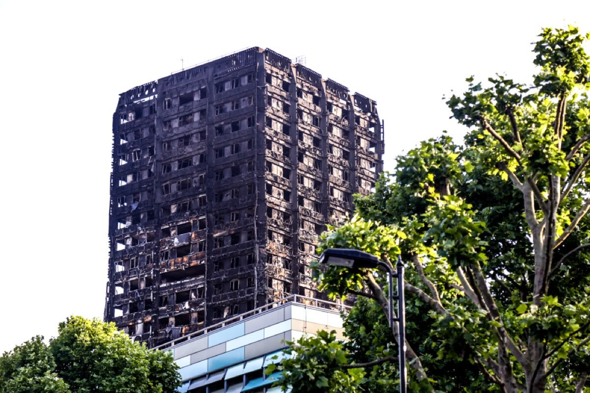 Photo of Grenfell Tower by Wasi Daniju, via Flickr.