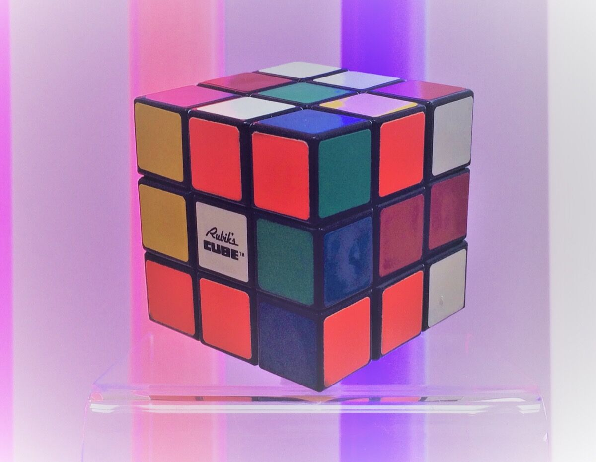 Rubik's Cube™. Image © Matt Fox, Courtesy of the Willis Museum.