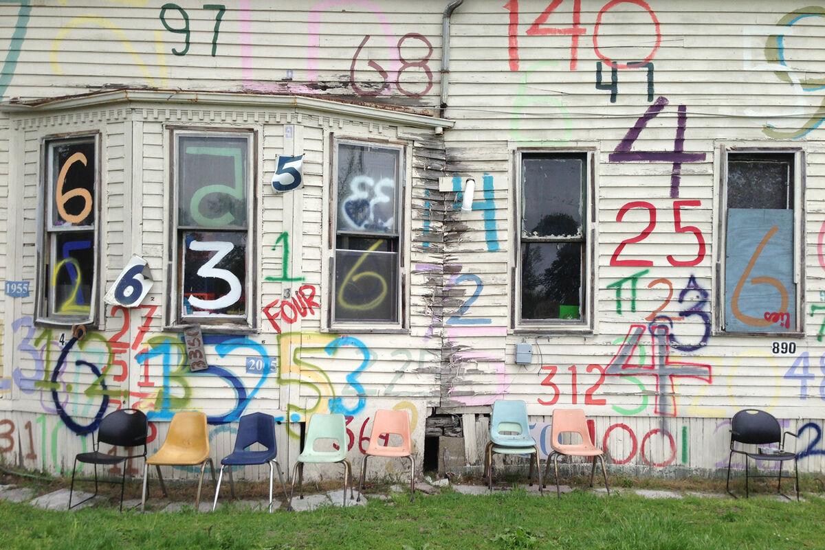 Tyree Guyton, The Heidelberg Project, Detroit, MI. Photo by Scott Reeder. Courtesy of Scott Reeder.