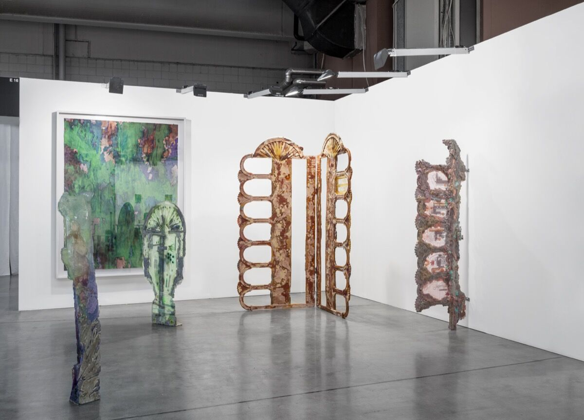 Installation view of pact's booth at miart, 2017. Photo courtesy of pact.
