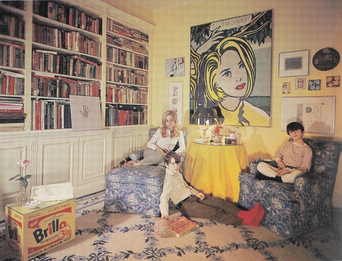 Holly, John, and Thomas Solomon in New York apartment 1969. Courtesy of Thomas Solomon.