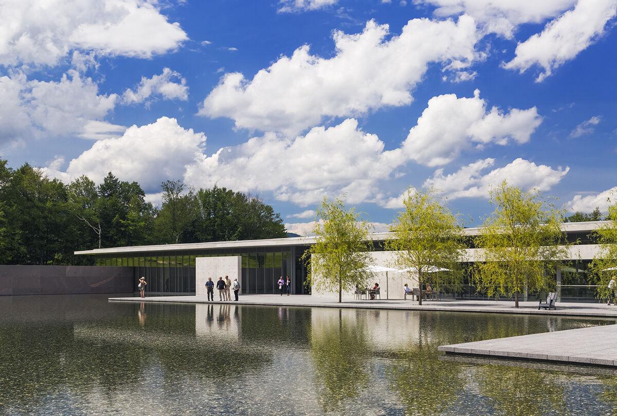 Clark Art Institute © Jeff Goldberg/Esto. Courtesy of the Williams Graduate Program in the History of Art.