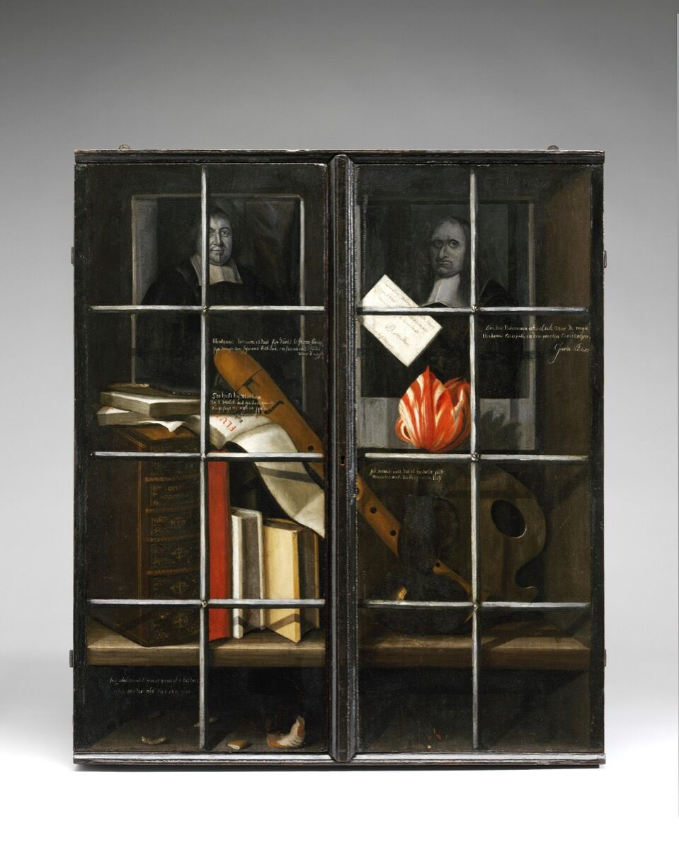 Cupboard by an unknown artist, 1678–80. © Victoria and Albert Museum, London.