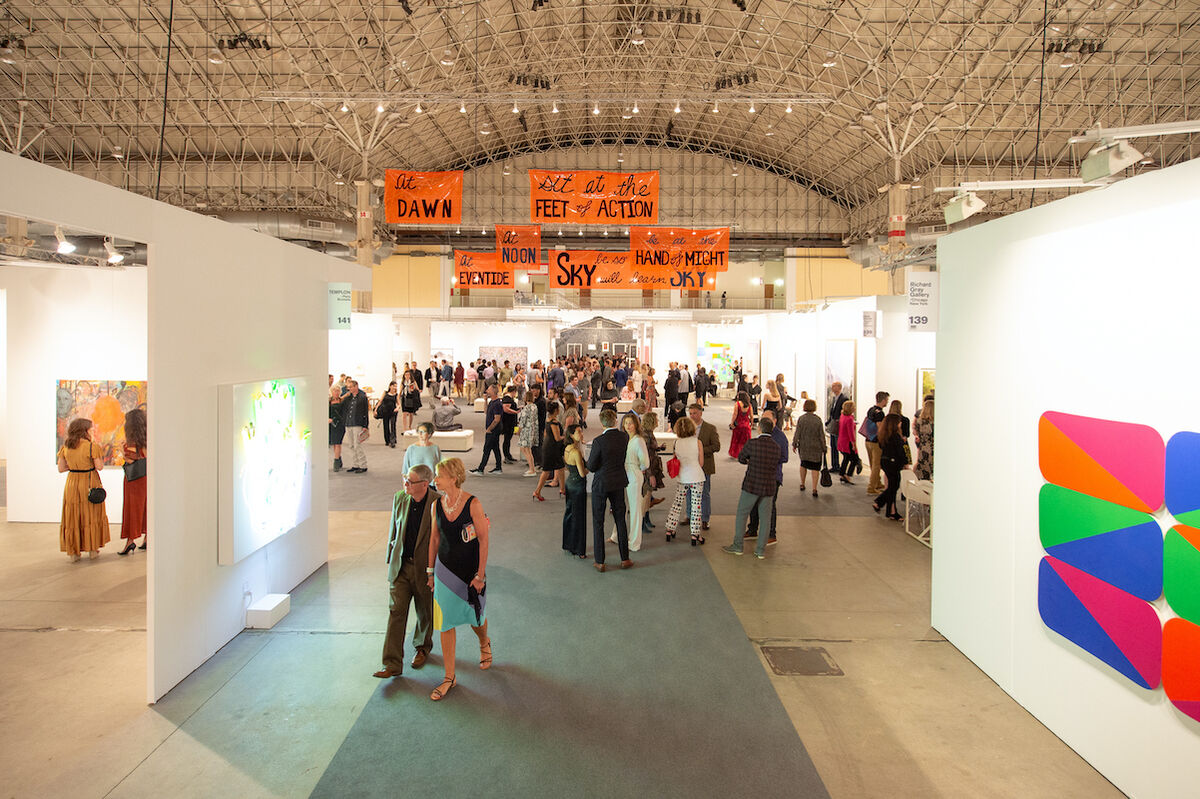 Expo Chicago Vernissage 2019. Image Courtesy of Expo Chicago by Cory Dewald.