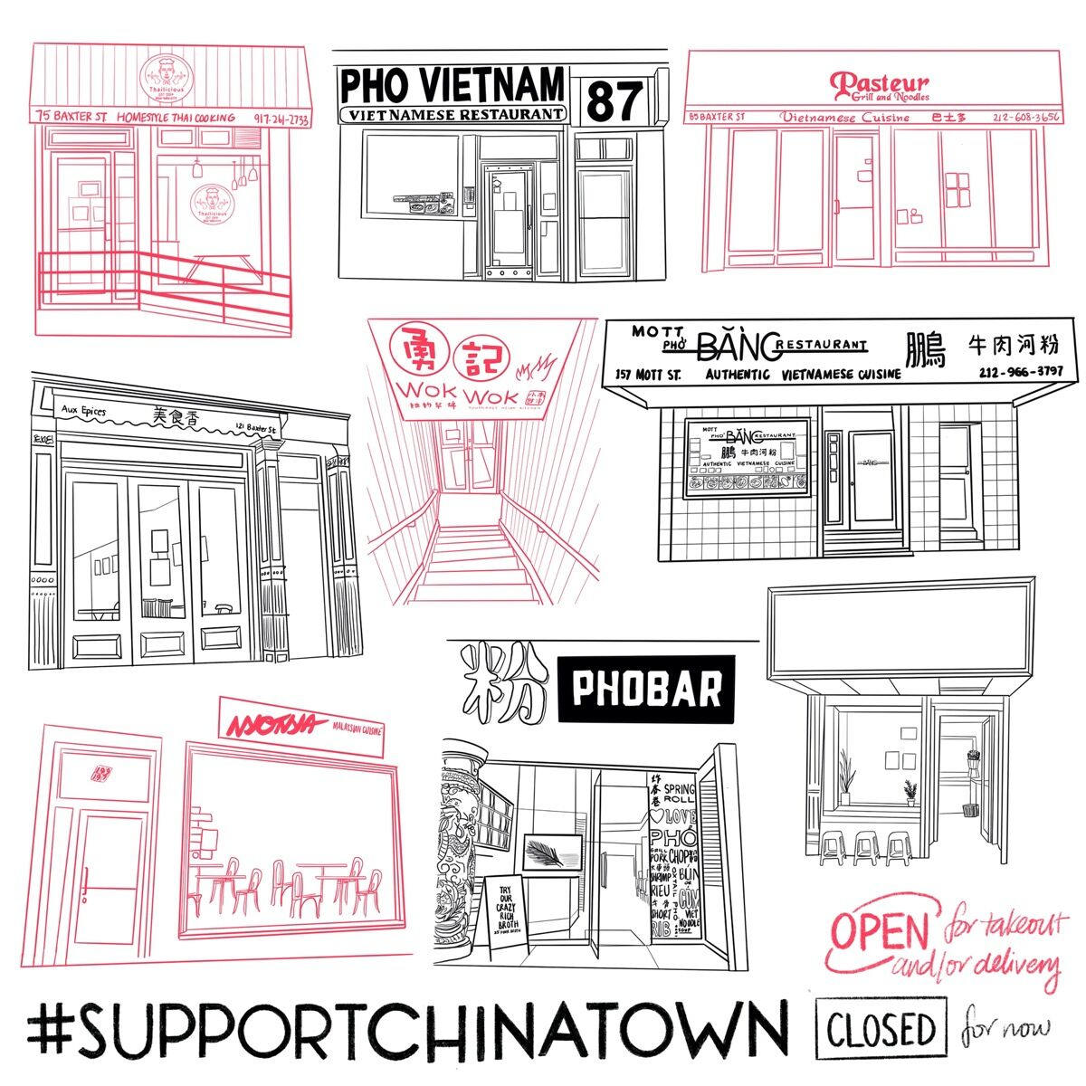 """Felicia Liang, April 6, 2020 from """"#SupportChinatown,"""" 2020. Courtesy of the artist."""