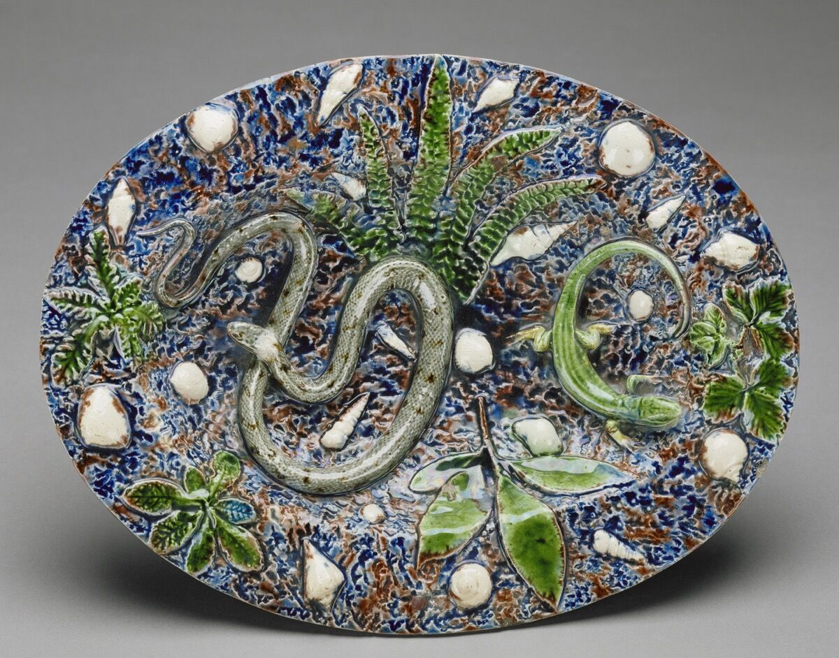 Bernard Palissy Cast Live Snakes, Frogs, and Lizards to Make