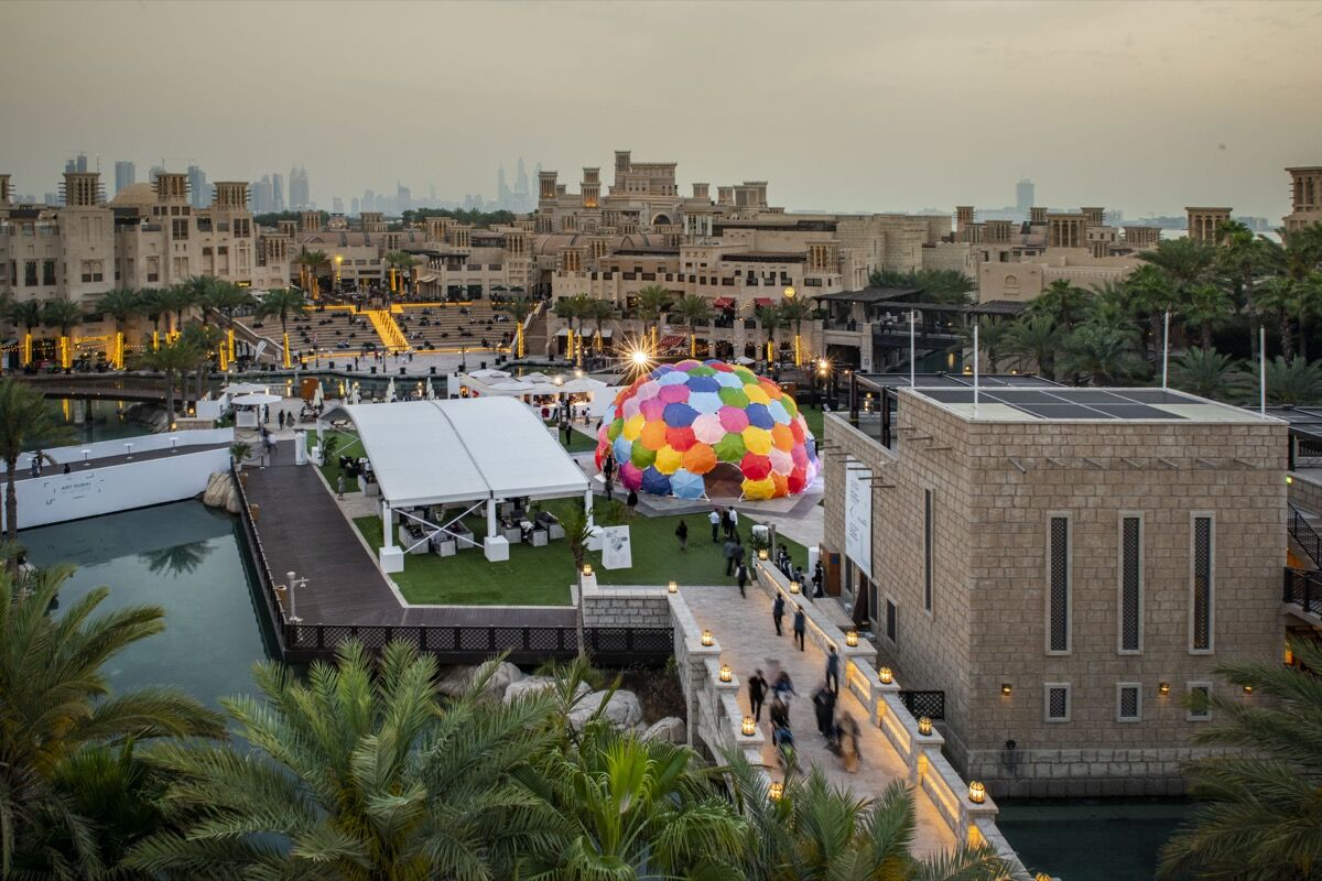 Art Dubai 2019. Courtesy of Photo Solutions.