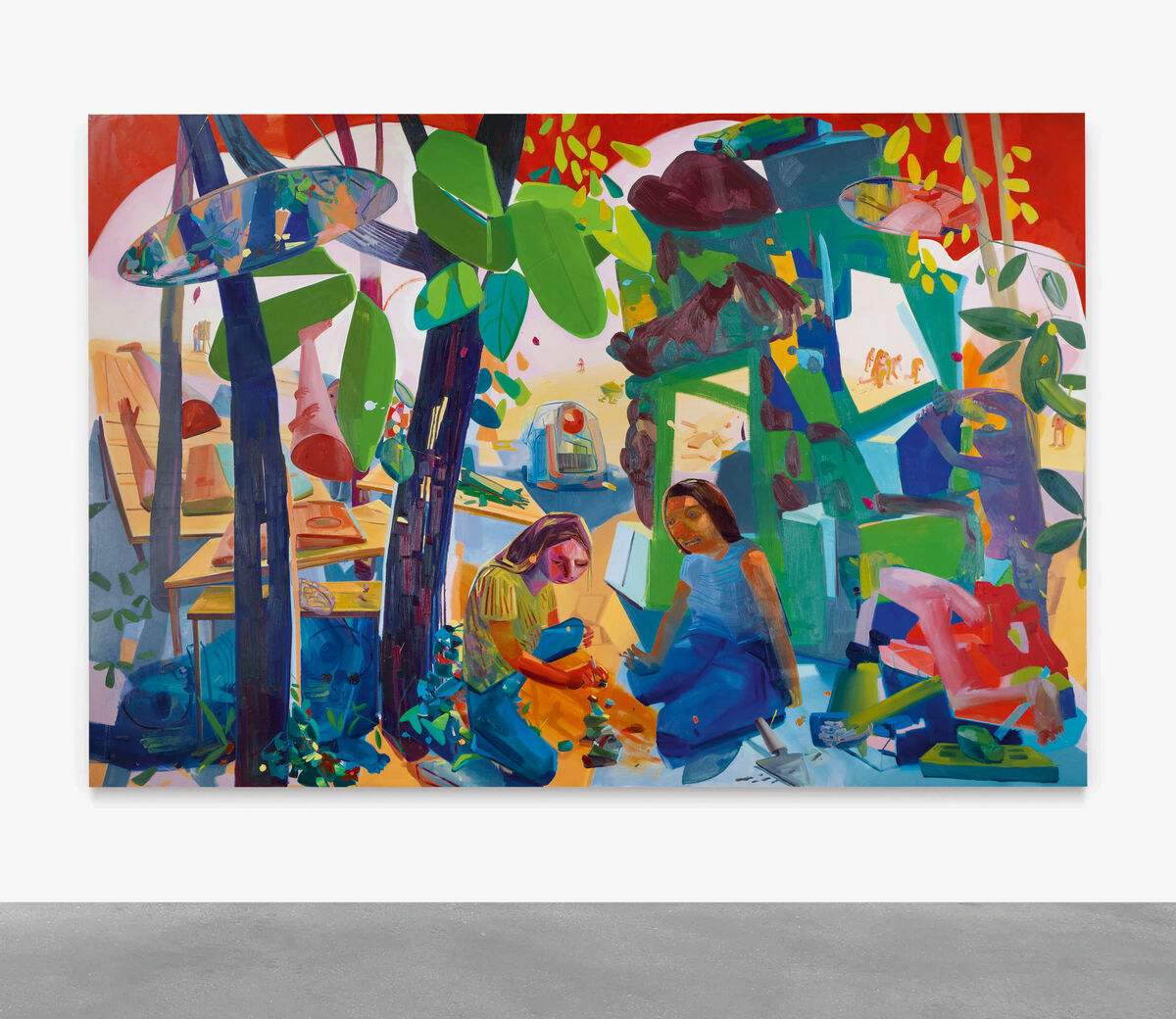 Dana Schutz, Civil Planning, 2004. Courtesy of Sotheby's.