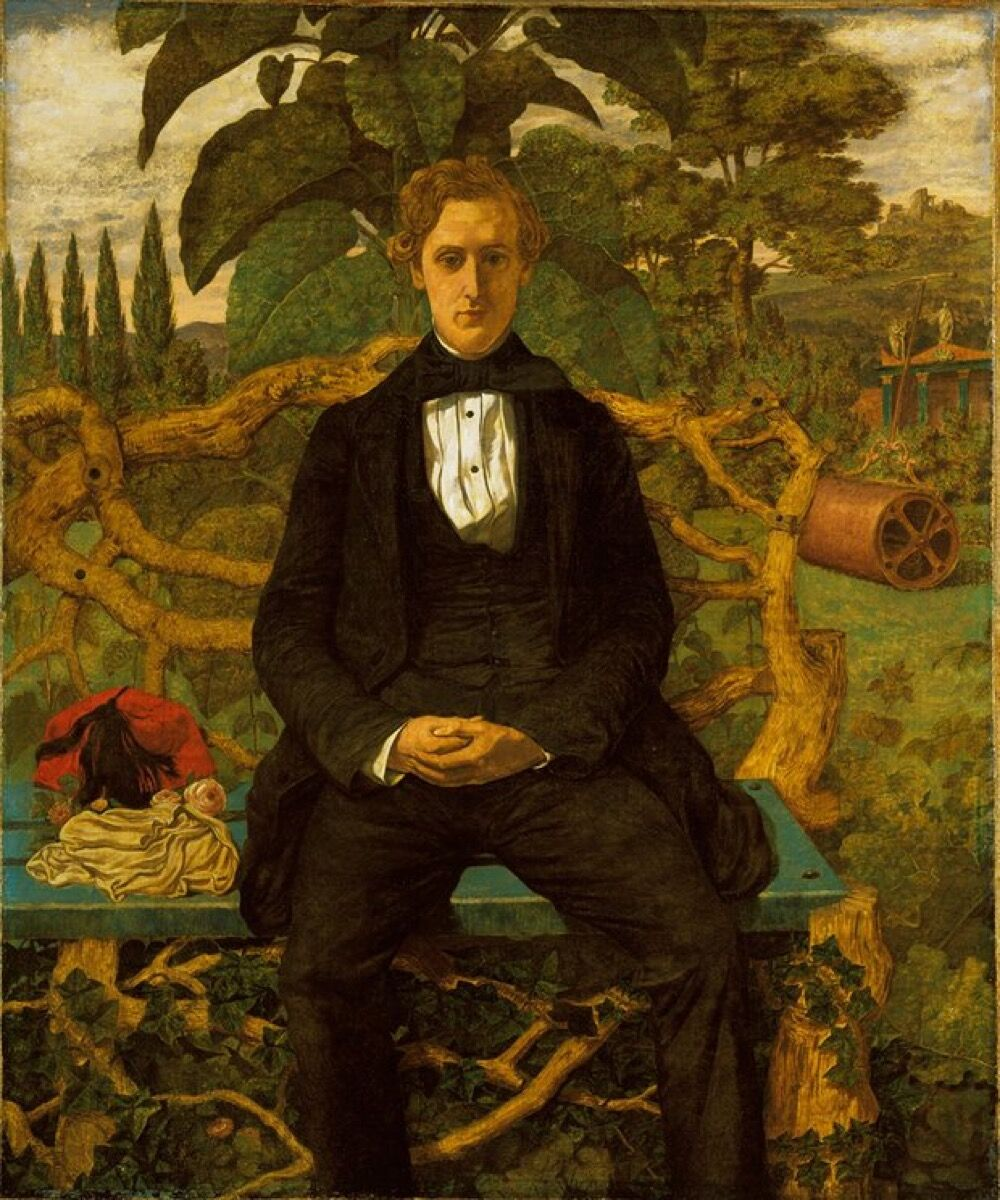 Richard Dadd, Portrait of a Young Man, 1853. Image via Wikimedia Commons.