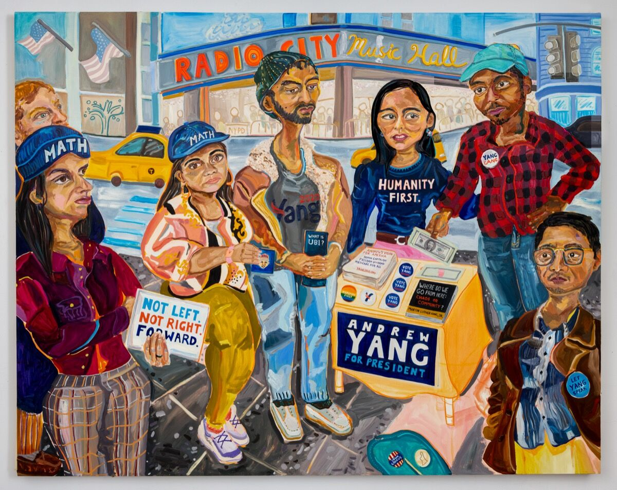 Susan Chen, Yang Gang, 2019. Photo by Adam Reich. Courtesy of the artist and Meredith Rosen Gallery.