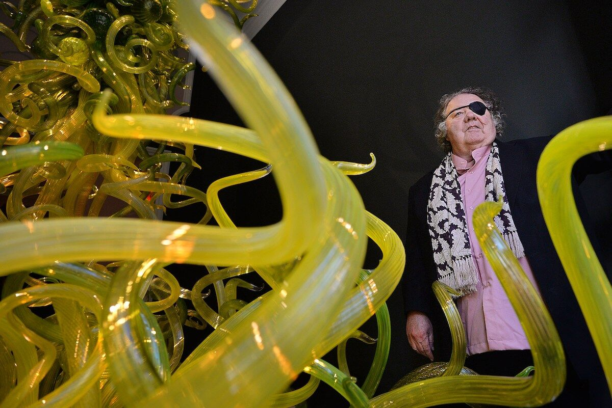 Dale Chihuly. Photo by Ben Stansall/AFP/Getty Images.