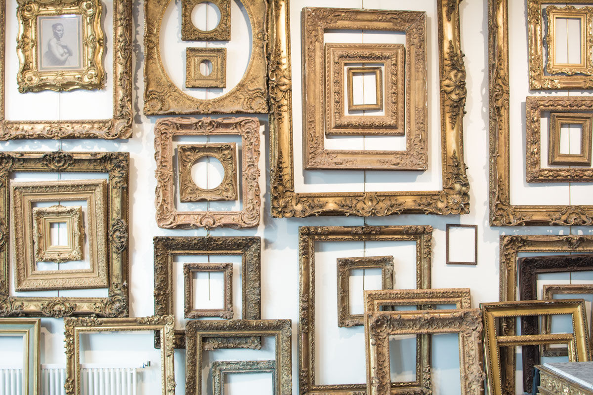 A Brief History of the Frames Market - Artsy