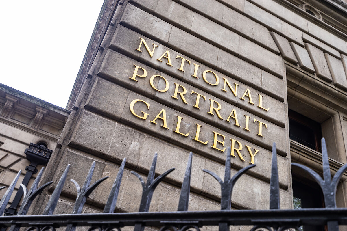 The National Portrait Gallery in London. Photo by Wei-Te Wong, via Wikimedia Commons.