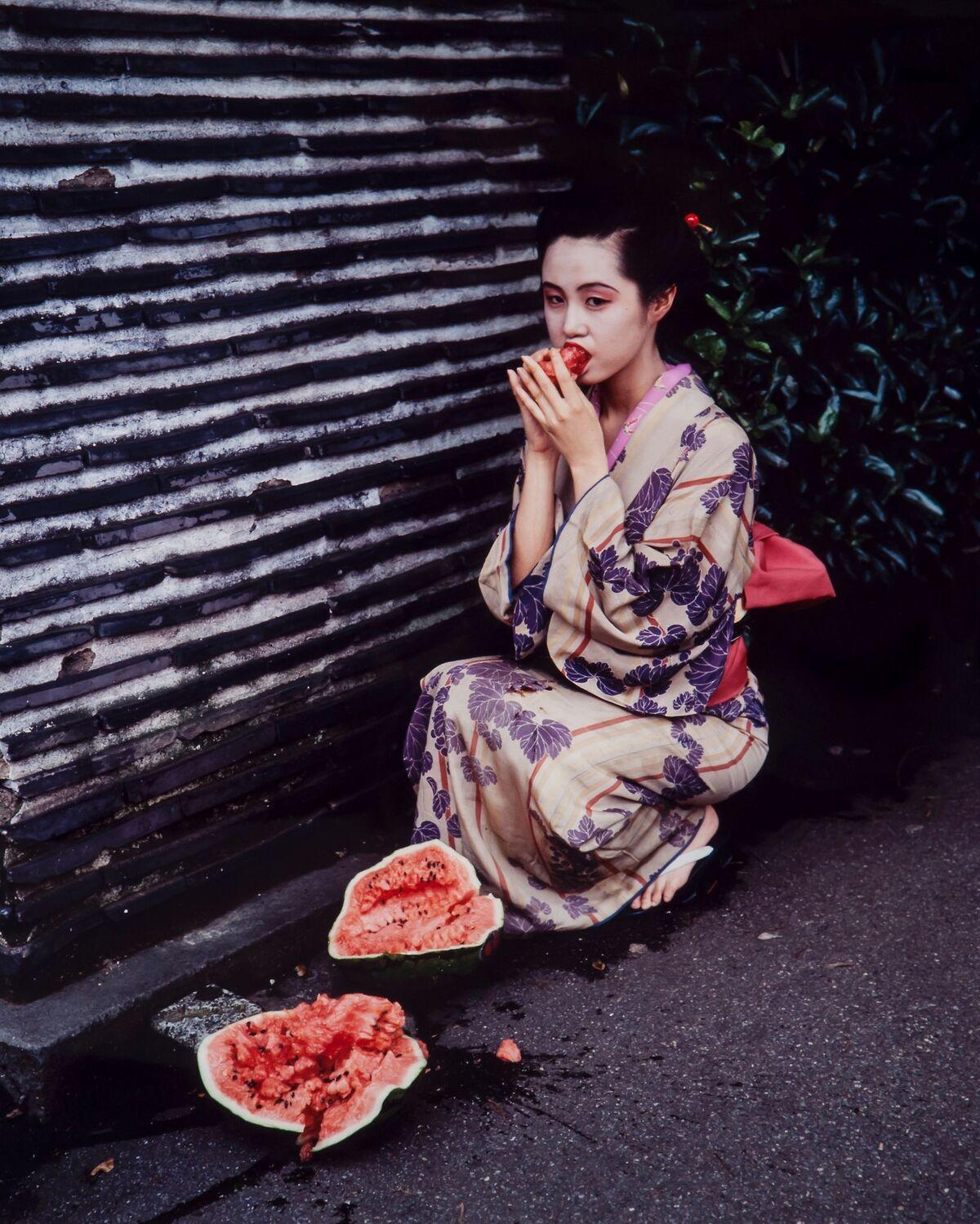 Nobuyoshi Araki, Colourscapes, 1991. Courtesy of the Museum of Sex.