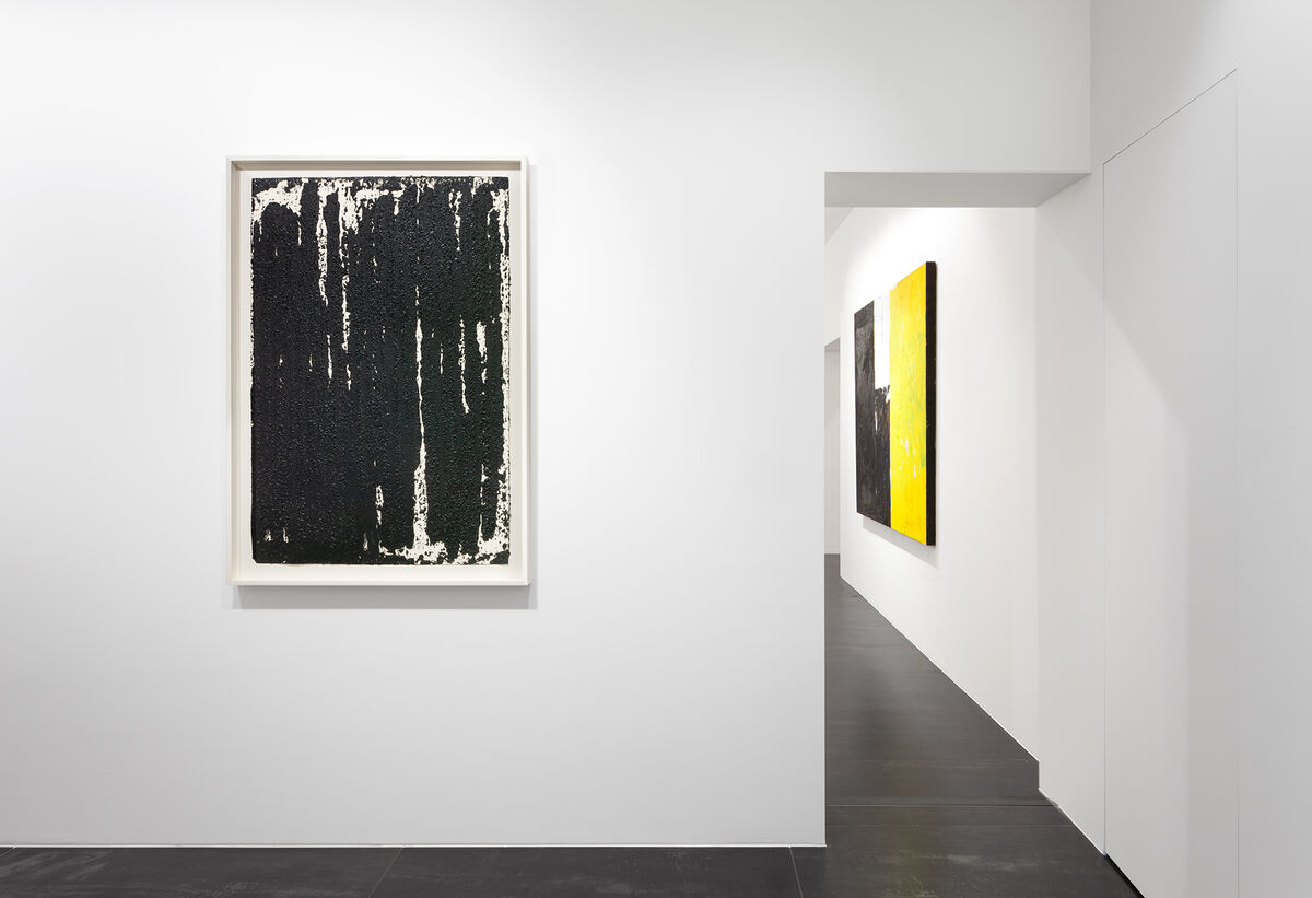 "Installation view of ""Continuing Abstraction,"" 2019. © Artists and Estates. Photo by Sebastiano Pellion. Courtesy of Gagosian."
