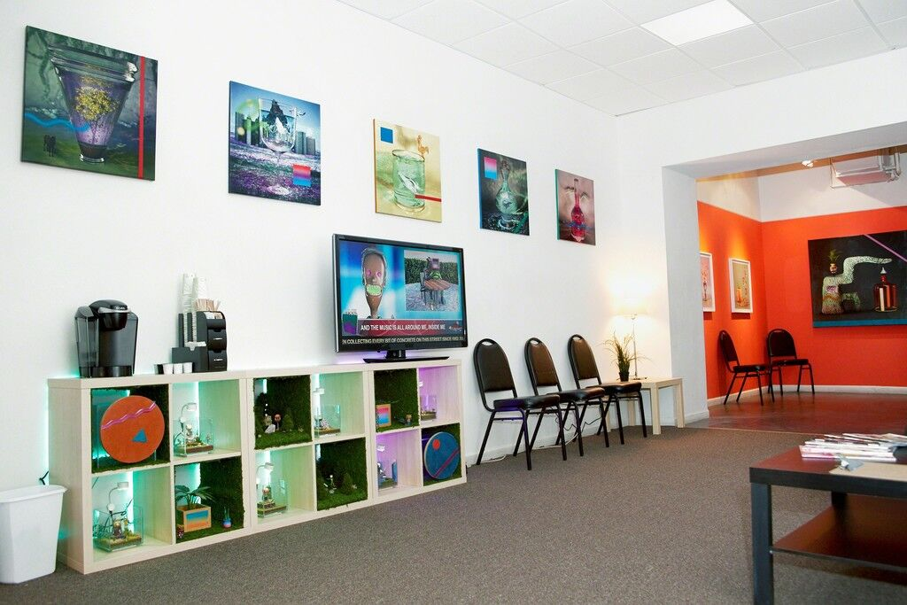 "Installation view of ""Out of Body Experience Clinic"" at Louis B. James. Courtesy Louis B. James and the artist."